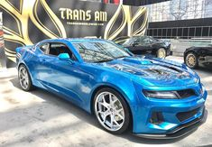 Pontiac lives on or least its Trans Am does with the latest model unveiled this week at the 2017 New York auto show. It's called the Trans Am 455 Super Duty and it's packing a supercharged delivering 1000 horsepower and 1046 pound-feet of torque. Crate Motors, Pontiac Cars, Pontiac Firebird Trans Am, Twin Turbo, American Muscle Cars, American Pie, Chevrolet Camaro, Dream Cars, Srt Demon