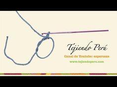 Aro deslizado o círculo mágico en crochet - YouTube MUY BIEN EXPLICADO *************