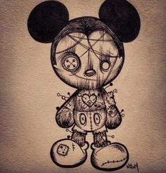 Voodoo Mikey mouse
