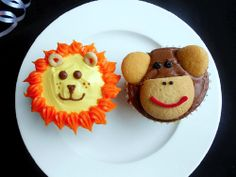 Great Idea for a jungle animal / safari birthday party or baby shower!