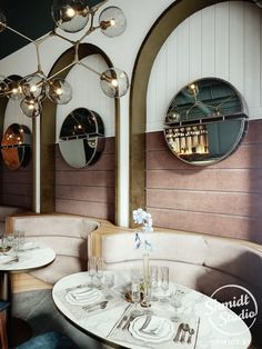 interior design ideas small restaurants In this article, I will show you the interior design for a restaurant to inspire your business restaurant plans.Take a look at this amazing interior design for the restaurant down below. Small Restaurant Design, Restaurant Design Moderne, Vintage Restaurant, Restaurant Concept, Modern Restaurant, Restaurant Interior Design, House Restaurant, Cafe Interior, Cafe Design