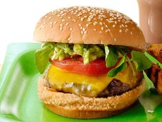 Get Bobby Flay's L.A. Burger Recipe from Food Network