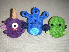 Alien Invaders  crochet pattern PDF by hepp on Etsy, $6.00