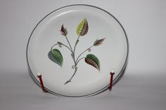 Stylish decorative Denby Spring charger plate by MillCottageRetro