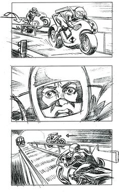famous film storyboard - Google Search