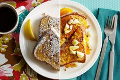 Mastering the art of French toast: perfectly crisped, with a hint of brown sugar in the crust.
