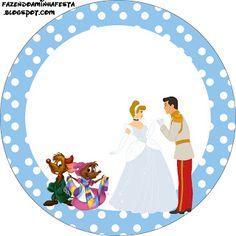 Cinderella Free Printable Toppers.