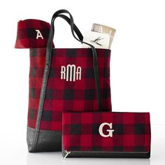 Tote Bag - Buffalo Plaid by VIDA VIDA WmfBMywo6o