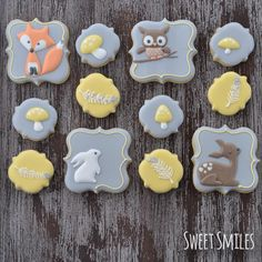 Woodland Baby Shower | Cookie Connection