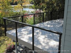 Amazing deck railing systems black by Stainless Cable Railing in Vancouver Washington