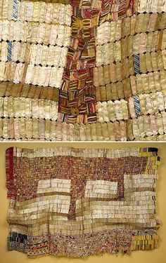 Between Earth and Heaven, 2006 | El Anatsui (Ghanaian, b. 1944)  | Aluminum, copper wire Metropolitan Museum of Art