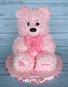 Teddy Cake by Julie Cain