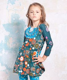 Take a look at this Agra Marie Dress - Infant, Toddler & Girls by Jelly the Pug on #zulily today!