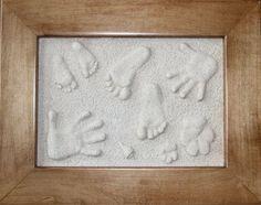 Pressions Baby Feet Handprints kits Footprint kits Pet prints Baby gifts - Family Pressions