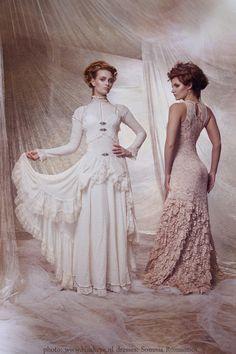 2 gowns, Somnia Romantica by Marjolein Turin by SomniaRomantica