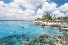 Cozumel, one of our stops, on our Western Caribbean cruise.