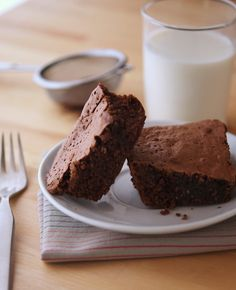 The Best Protein Brownies