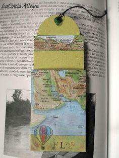 La Cincia Allegra: carta e cartine