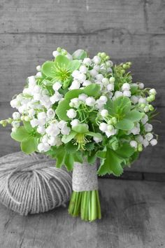 So pretty and delicate are Lily Of The Valley.....