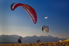 Teton Paragliders by Jerry Patterson on 500px
