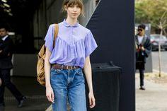 Australia Fashion Week Street Style Feels the Blues - Australia Fashion Week Street Style-Wmag