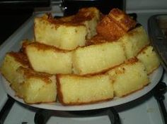 Butter Mochi Ingredients:  31/2 cups sweet rice flour (mochiko)  21/2 cups white sugar  2 tablespoons baking powder  5 eggs  1 t...