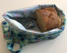 Reusable bread in PUL for conservation and transport bag - keeps the bread 7 days! -Zero waste - Zero waste