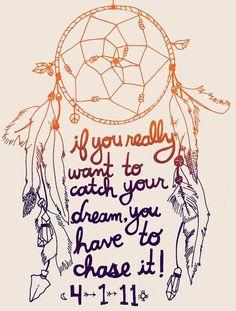 Dream Catcher quote
