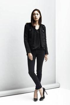 LOOKAST CHAPTER #2 - Black tweed jacket