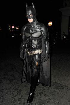 Halloween Costume Idea: Liam Payne as Batman