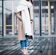 Styling-Tipps für Schals | POPSUGAR Deutschland Mode