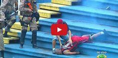 Gazeta Social: Vídeos mostram barbáries cometidas em jogo de Atlético-PR e Vasco deste domingo; assista
