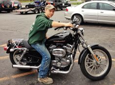 Brandon Cramer & his dad bought this 883 for his mom.  Happy Mother's Day!