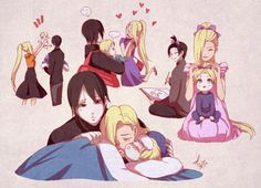 Find images and videos about naruto, himawari and inojin on We Heart It - the app to get lost in what you love. Sai Naruto, Anime Naruto, Naruto Comic, Naruto Uzumaki, Ino And Sai, Naruto Gaiden, Naruto Cute, Sarada Uchiha, Gaara