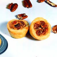 Aunt Jackie's Pecan TartsOpens photo in lightbox. Hit Escape or X to exit lightbox.