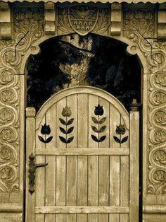 ♅ Detailed Doors to Drool Over ♅ art photographs of door knockers, hardware & portals - door in Hungary Cool Doors, Unique Doors, Portal, Entrance Gates, Grand Entrance, When One Door Closes, Wooden Gates, Knobs And Knockers, Door Gate
