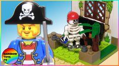Lego Duplo Sets, Frozen Sisters, Disney Princess Frozen, Pirate Treasure, Lego Toys, Desert Island, Stop Motion, Pirates, Christmas Ornaments
