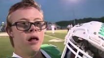 Teen With Down Syndrome Scores Touchdown of a Lifetime - http://www.nbcchicago.com/news/local/michigan-teen-down-syndrome-scores-touchdown-393907981.html