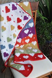Ravelry: Baby Love - Double Knit Blanket pattern by Loani Prior