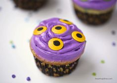 Monster cupcakes recipe