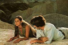 Mark Frechette & Daria Halprin in Antonioni's Zabriskie Point, 1970
