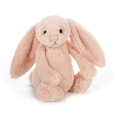 Jellycat Bashful Blush Bunny loves to snuggle, and her super soft peachy fur makes her the perfect cuddle buddy! Bunny Toys, Bunny Plush, Bunnies, Grey Bunny, Cuddle Buddy, Jellycat, Bunny Rabbit, Snuggles, Stuffed Animals