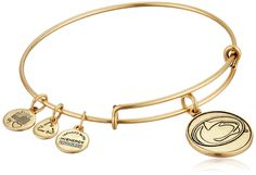 Alex and Ani Pennsylvania State University Mascot Expandable Bangle Bracelet ** You can find more details by visiting the image link.