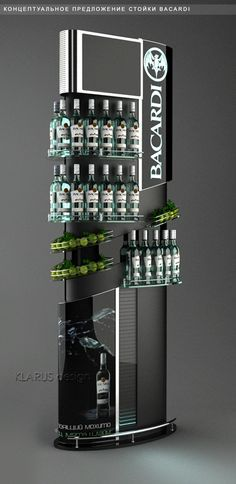 gondola shelving bacardi - Google Search
