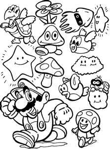 super mario coloring pages for free with luigi and the princess
