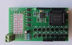 A retro 32-bit memory for Arduino using ferrite cores.