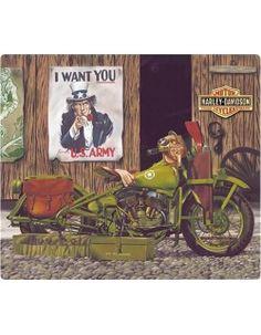 Plaque métal vintage - Harley Davidson Motor cycles sigle Harley Davidson Panhead, Logo Harley Davidson, Harley Davidson Vintage, Harley Davidson Museum, Harley Panhead, Classic Harley Davidson, Female Motorcycle Riders, Motorcycle Gear