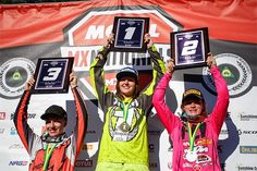 After narrowly missing out on the championship win in 2016, DPH Motorsport's Maddy Brown was crowned the 2017 Yamaha Motor Finance Women's Australian Motocross Champion at Round 10 of the Motul MX Nationals at Coolum today.
