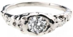 Inset Grotto Ring - Engagement Rings - Categories