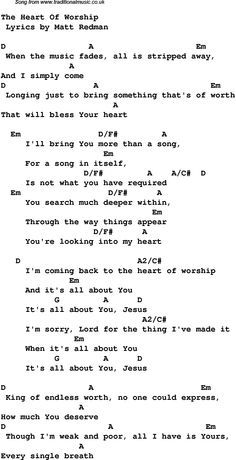 Christian Music Chords And Lyrics Download These Lyrics